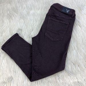 AEO High-Rise Jeggig Crop Skinny Jeans